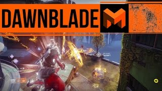 DawnBlade PVP First Look Review: Destiny 2 Crucible Game Play