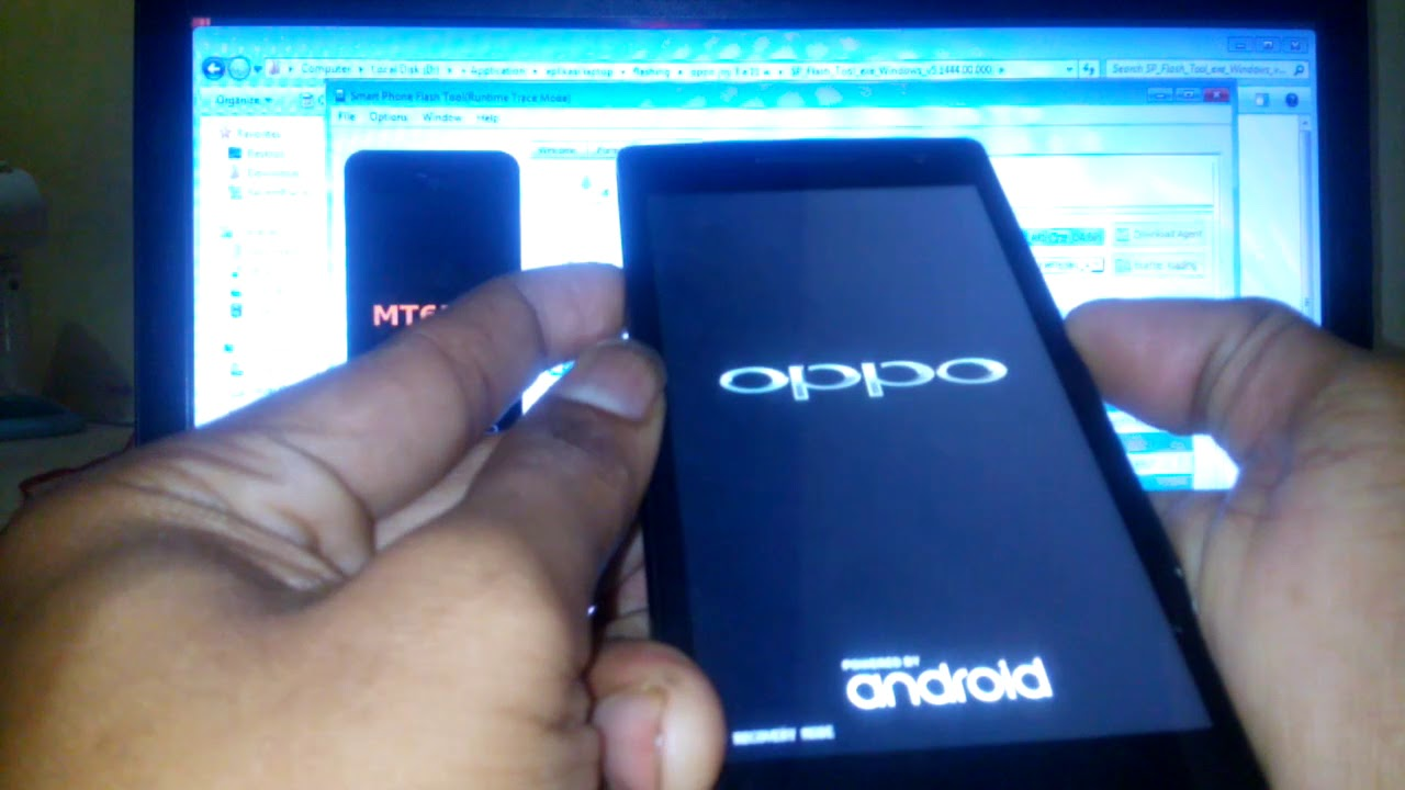 Cara Flashing Oppo Find 5 Mini Mati Stok Logo Bootloop Youtube