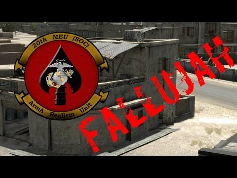 JFET's 20th MEU - Public Fallujah Realism Server - ArmA 2 OA - ACE/ACRE