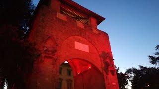 Giornata contro la violenza sulle donne, Firenze illuminata di rosso