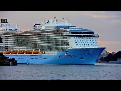 Ovation of the Seas:  Australia's new, billion-dollar cruise ship