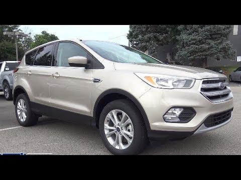 2017 Ford Escape Se Suv Ecoboost Engine Walkaround At