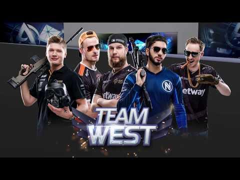 East vs West - Asia Championship 2018 Showmatch