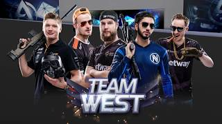 Team East vs Team West Showmatch | CS:GO ASIA CHAMPIONSHIPS 2018 - Playoffs
