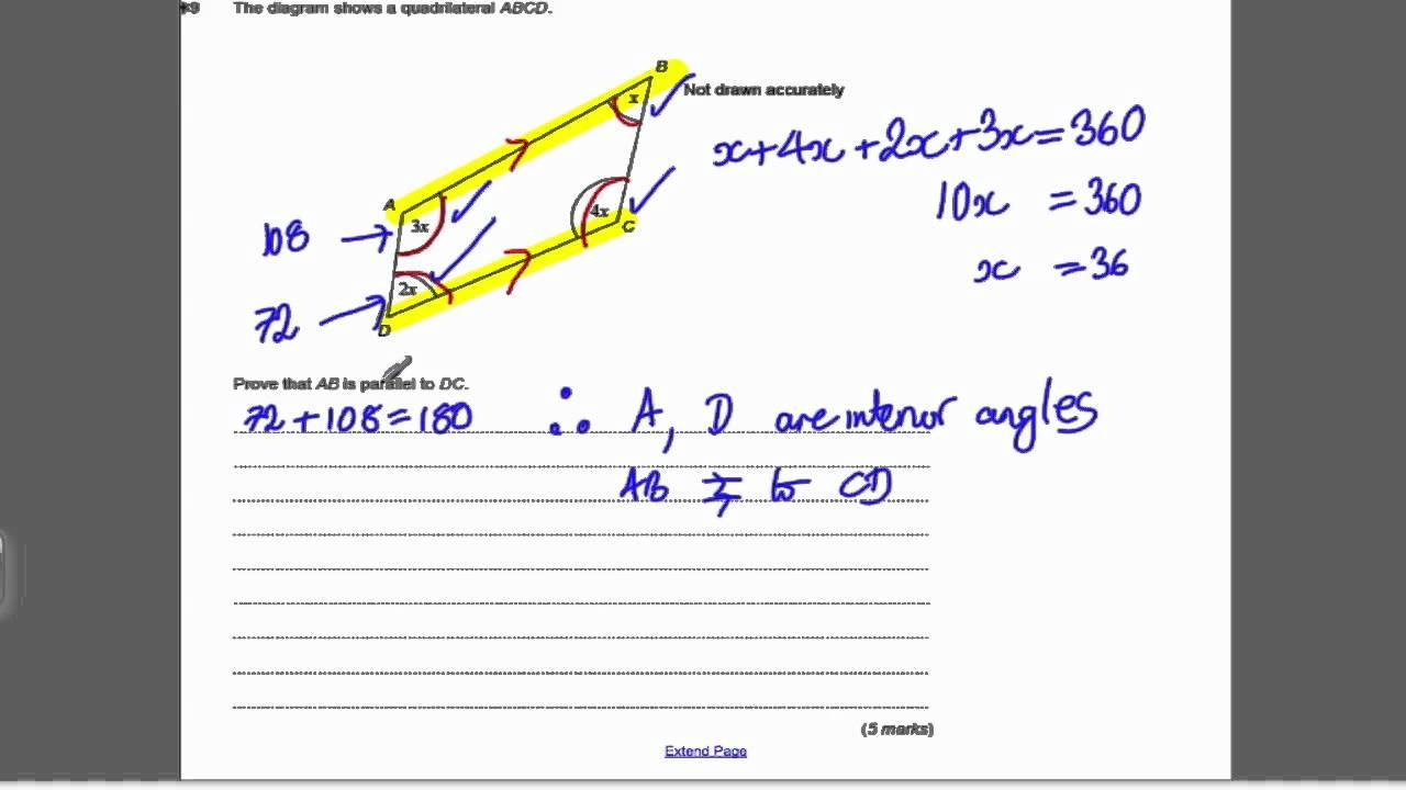 Circle theorems 2 gcse higher maths exam qs 14 youtube ccuart Gallery
