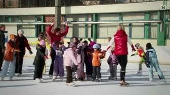 Fun on Ice - Kinder lernen Eislaufen