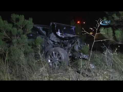 Cihanbeyli Trafik Kazası 2 Ölü
