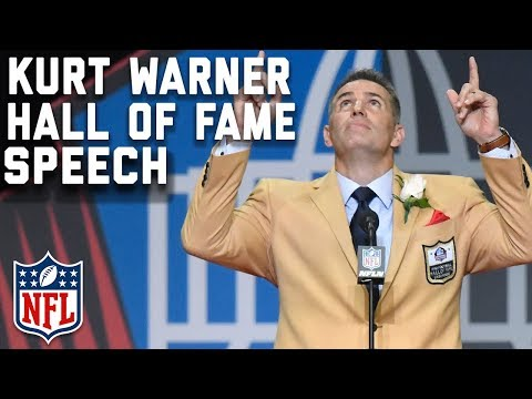 Kurt Warner's Hall of Fame Speech  2017 Pro Football Hall of Fame  NFL