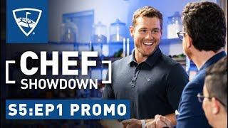 Chef Showdown | Season 5: Episode 1 Promo - Colton Underwood's Hidden Talent | Topgolf