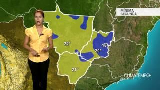 Previsão Centro-Oeste -Várias pancadas de chuva