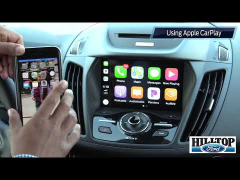 2018 Ford Escape: Connect Phone via Bluetooth, Use Apple CarPlay