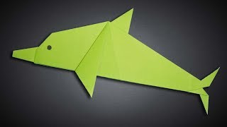 How to Make a Paper Dolphin Step by Step | Easy Origami Dolphin