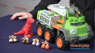 Matchbox Big Boots Bootlandia Dino Adventure Squad from Mattel