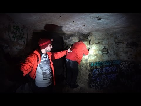 TRAILER - PARIS CATACOMBS #Catacombswithjosh
