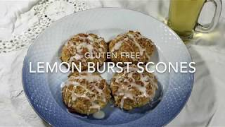 Gluten Free Lemon Burst Scones