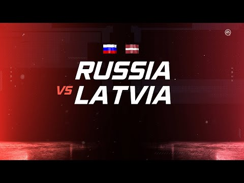 Latvia Vs. Russia | PS4 Simulated | 2020 IIHF Ice Hockey World Championship