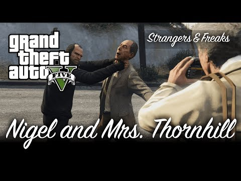 GTA V - Nigel and Mrs. Thornhill (Vinewood Souvenirs) [100% Gold Medal Mission Walkthrough]