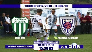 Laferrere vs Sportivo Barracas full match