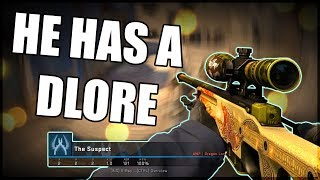 Cheating With a DRAGON LORE? (CSGO Overwatch)
