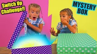 Mystery Box Of Back To School Switch Up Challenge!! By Las Ratitas!!