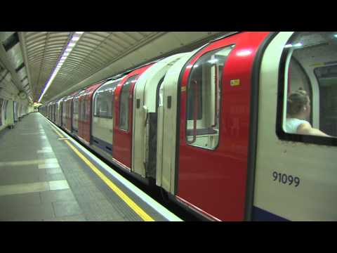 Central Line Driver's eye view preview