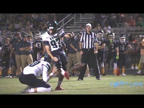 High School Football Highlights of PLAYMAKING Kicker Alexander Raynor
