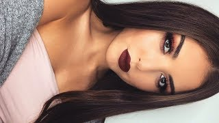 Drugstore Fall Makeup | Vampy Lips + Red Copper Eyes