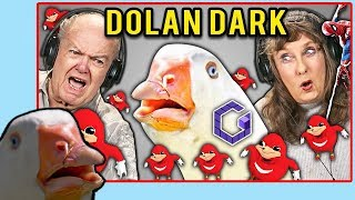 I React To Elders React To Dolan Dark