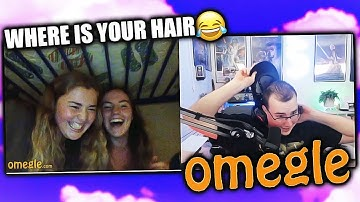 OMEGLE but I Hairline Check People