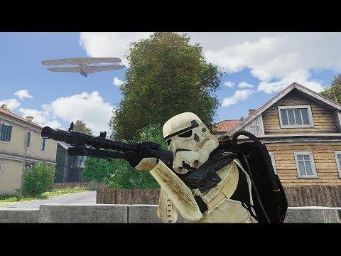 Star Wars VS Earth MW - City Evacuation