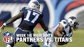 Panthers vs. Titans   Week 10 Highlights   NFL
