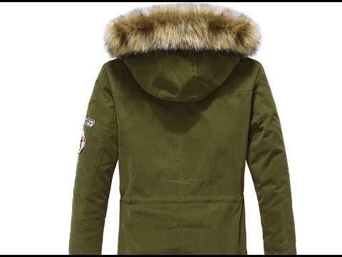 Мужской пуховик парка с алиэкспресс aliexpress мужская куртка зимняя из китая обзор