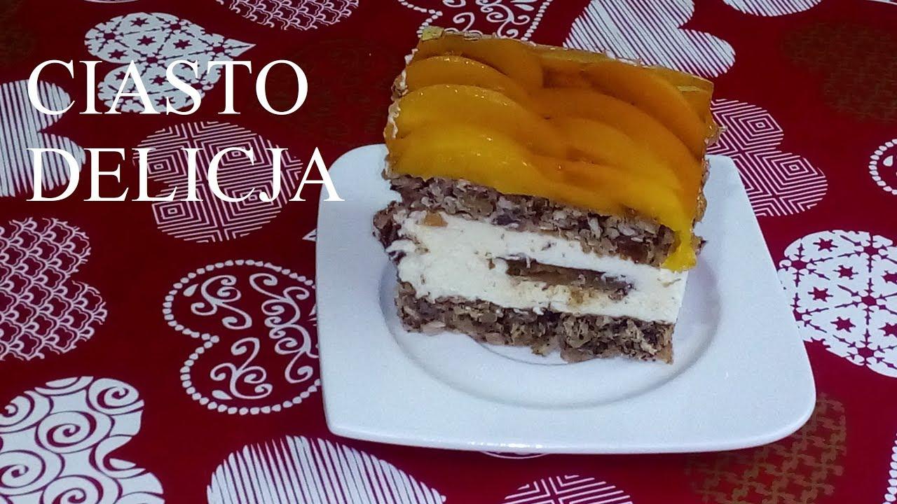 Ciasto Delicja Slazaczka Halinka