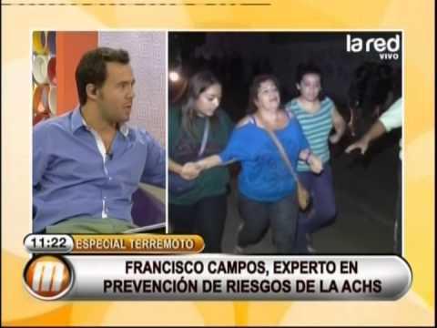 Sergio Barrientos, director de Sismología, habla sobre el terremoto en el norte