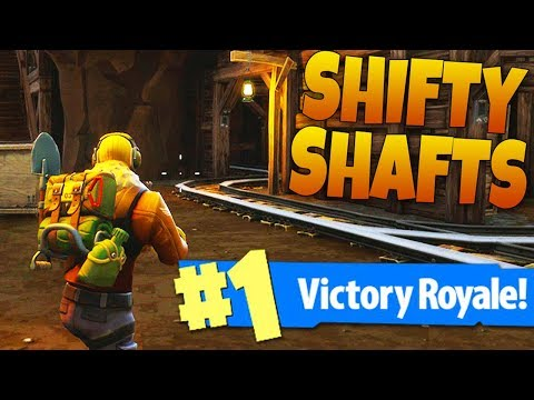13 KILL SHIFTY SHAFTS LANDING VICTORY ROYALE! - Fortnite: Battle Royale New Map