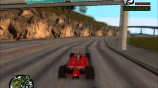 DANO UM ROLE NA F1 GTA SAN ANDREAS-PC