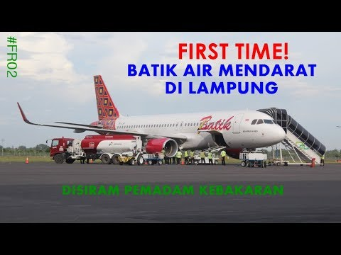 Inaugural Flight Batik Air Lampung