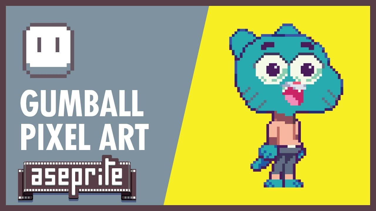 Gumball Pixel Art