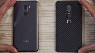Pocophone F1 vs OnePlus 6 - Speed Test! Which is Faster?