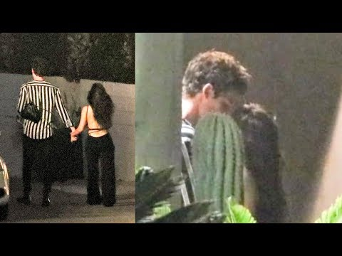 Shawn Mendes & Camila Cabello CAUGHT Making Out!