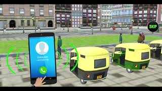 Modern Tuk Tuk Auto Rickshaw : Free Driving Games(By Jima Apps) Android Gameplay[HD] screenshot 2