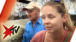 Existenz durch Brände bedroht: Wie Familie Davis in Australien Hab und Gut verlor | stern TV