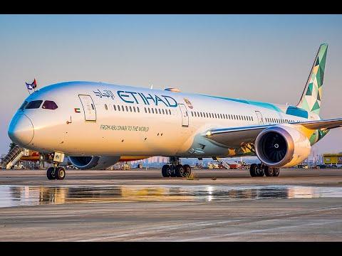 Etihad 1st Historical Flight Abu DHabi To Tel Aviv