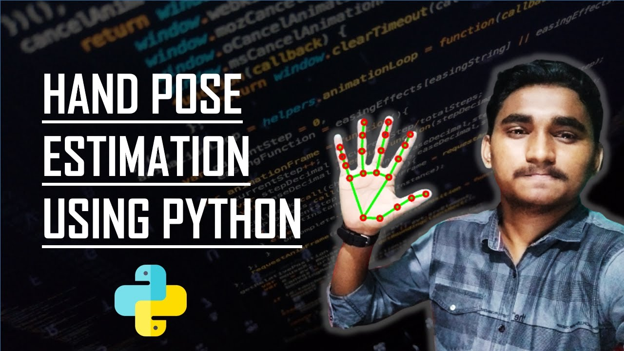 Hand Pose Estimation in Real Time Using Python & Mediapipe | KNOWLEDGE DOCTOR | Mishu Dhar