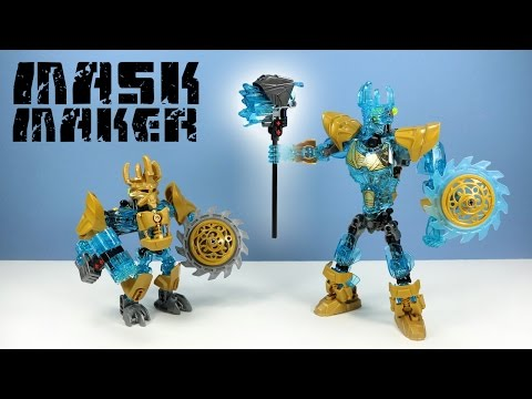 LEGO Bionicle Ekimu The Mask Maker Set 71312 Speed Build Review