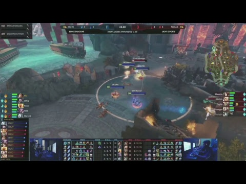 South America Smite Invitational Brasil - Licht Esports Vs Black Dragons