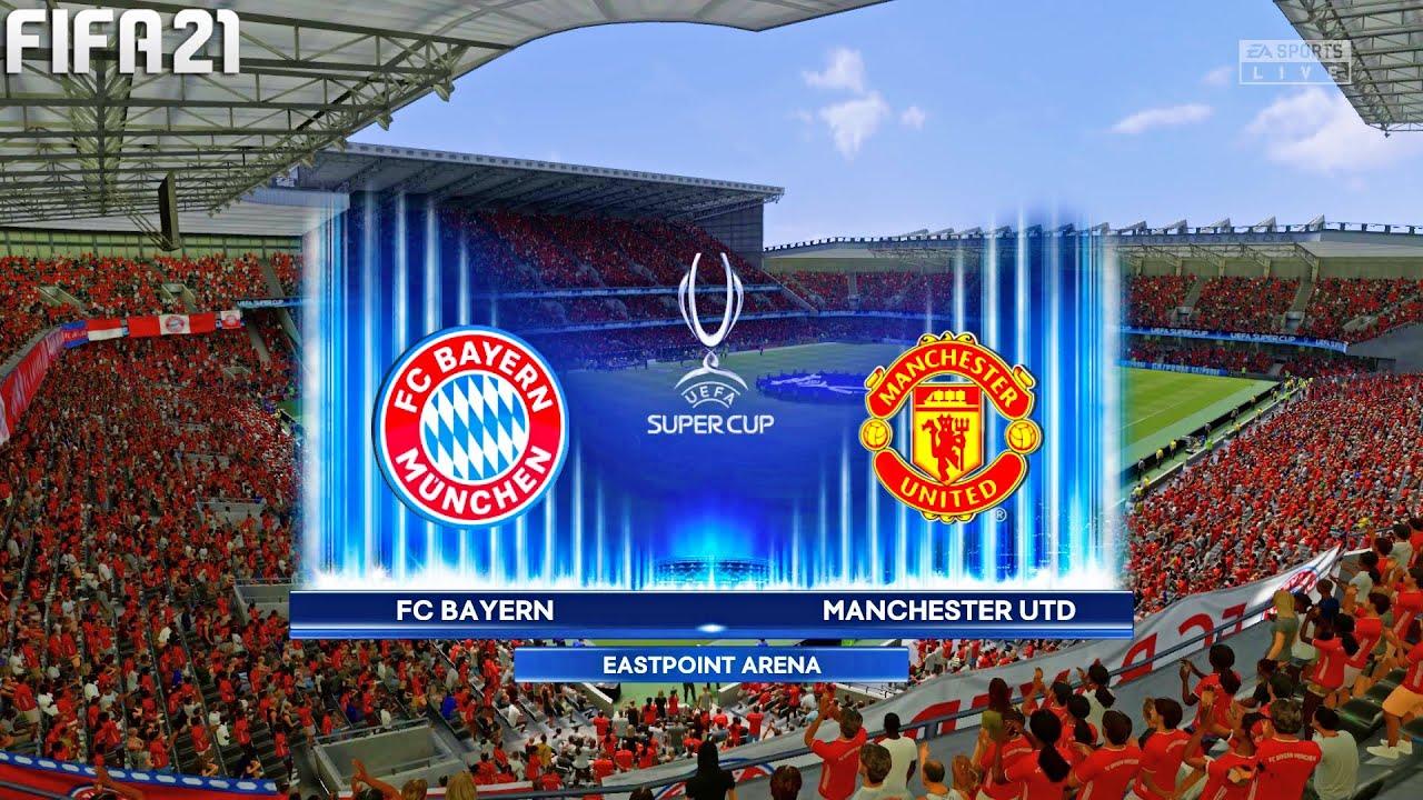 FIFA 21 | Bayern Munchen vs Manchester United - UEFA Super Cup - Full Gameplay