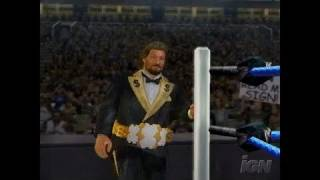 WWE SmackDown vs. Raw 2006 PlayStation 2 Gameplay - Ted