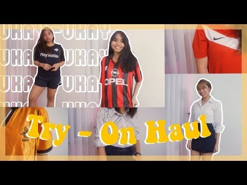 Ukay-Ukay Try-On Haul | JNK