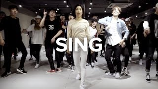 Lia Kim teaches choreography to Sing by Pentatonix. Learn from inst...